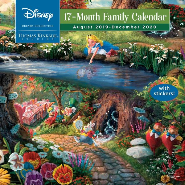 Andrews McMeel Disney Dreams Collection Thomas Kinkade Familieplanner 2020