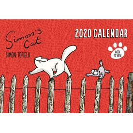 Portico Designs Simon's Cat A4 Familieplanner 2020
