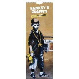 Browntrout Banksy Slimline Kalender 2020