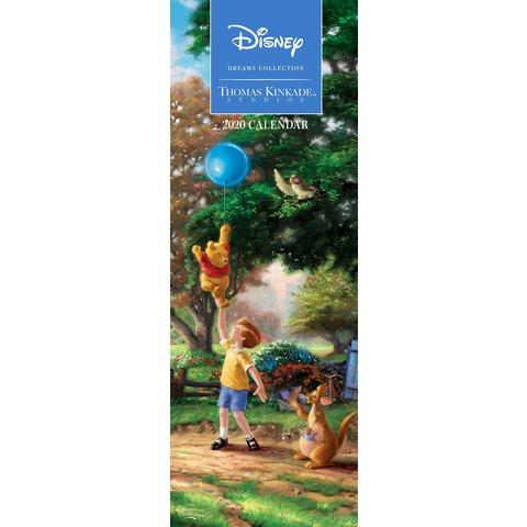 Thomas Kinkade Disney Slimline Kalender 2020