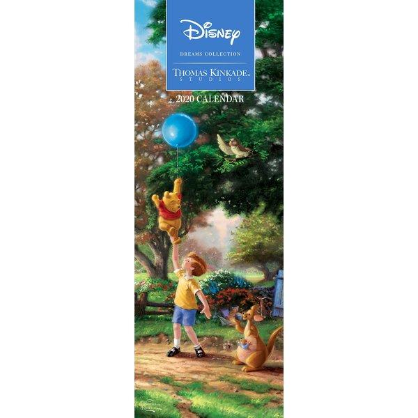 Andrews McMeel Thomas Kinkade Disney Dreams Slimline Kalender 2020