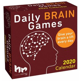 Andrews McMeel Daily Brain Games Page-A-Day Scheurkalender 2020