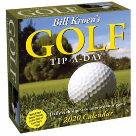 Andrews McMeel Bill Kroen's Golf Tip-a-Day Kalender 2020