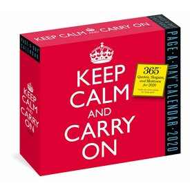 Workman Publishing Keep Calm and Carry On Page-A-Day Kalender 2020