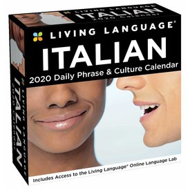 Andrews McMeel Living Language Italian Day-to-Day Boxed Kalender 2020