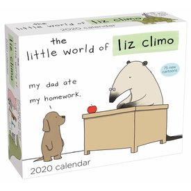 Andrews McMeel The Little World of Liz Climo Day-to-Day Scheurkalender 2020