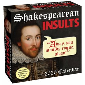 Andrews McMeel Shakespearean Insults Page-A-Day Kalender 2020
