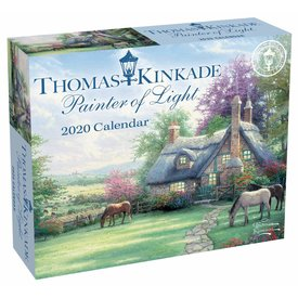 Andrews McMeel Thomas Kinkade Day-To-Day Scheurkalender 2020