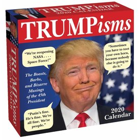 Andrews McMeel TRUMPisms Page-A-Day Boxed Abreisskalender 2020