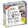 1000  Places to See Before You Die Page-A-Day Abreisskalender 2020