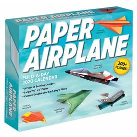 Andrews McMeel Paper Airplane Fold-a-Day Scheurkalender 2020