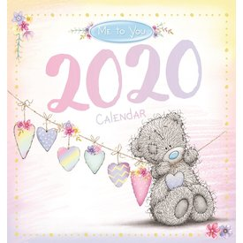 Carte Blanche Me To You Classic Bureaukalender 2020