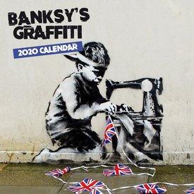 Browntrout Banksy Mini Kalender 2020