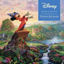 Andrews McMeel Thomas Kinkade Disney Mini Kalender 2020