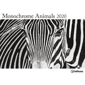 teNeues Monochrome Animals Plakatkalender 2020