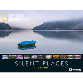 teNeues Silent Places NG Plakatkalender 2020