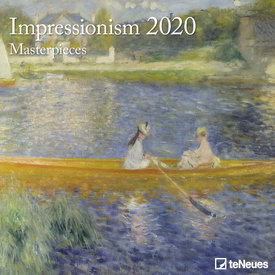 teNeues Impressionism Masterpieces Kalender 2020