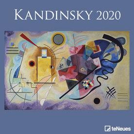 teNeues Wassily Kandinsky Kalender 2020