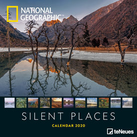 teNeues Silent Places NG Kalender 2020
