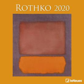 teNeues Mark Rothko Kalender 2020