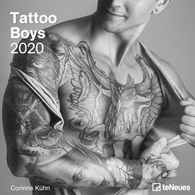 teNeues Tatoeage - Tattoo Boys Kalender 2020