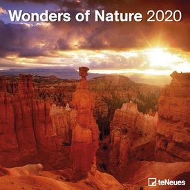 teNeues Wonders of Nature Kalender 2020