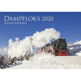 teNeues Dampfloks Kalender 2020