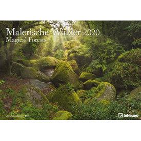 teNeues Malerische Wälder Kalender 2020