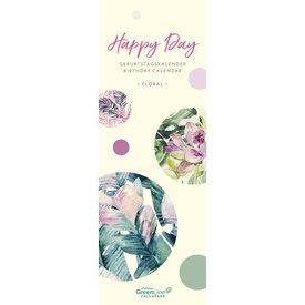 teNeues Floral GreenLine Geburtstagskalender