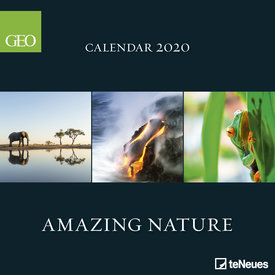 teNeues Amazing Nature GEO Kalender 2020