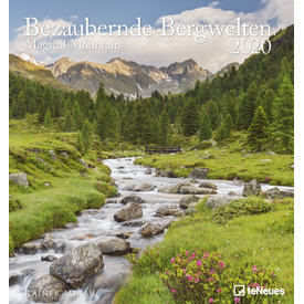 teNeues Bezaubernde Bergwelten 45x48 Kalender 2020