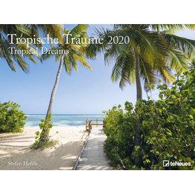teNeues Tropische Träume Plakatkalender 2020