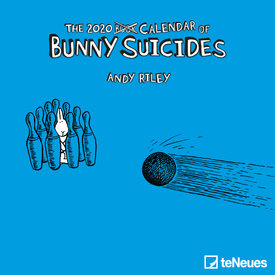 teNeues Bunny Suicides Mini Kalender 2020