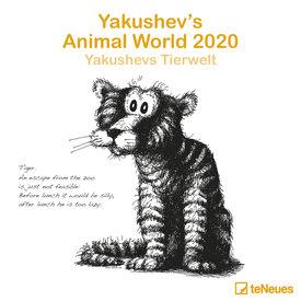 teNeues Yakushev's Animal World Kalender 2020