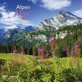 teNeues Alpen Kalender 2020