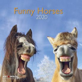 teNeues Funny Horses Kalender 2020