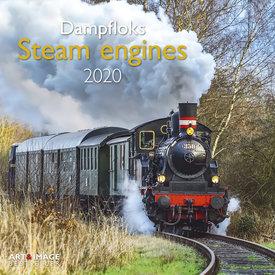 teNeues Dampfloks Kalender 2020 mit Poster