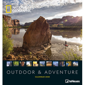 teNeues Outdoor & Adventure 45x48 NG Kalender 2020