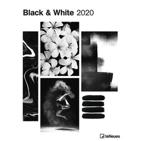 teNeues Black & White Posterkalender 2020