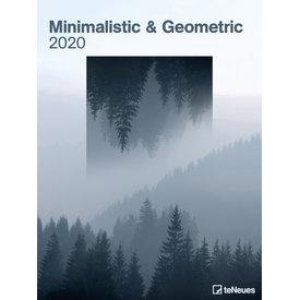teNeues Minimalistic & Geometric Plakatkalender 2020