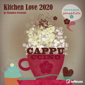 teNeues Kitchen Love Kalender 2020