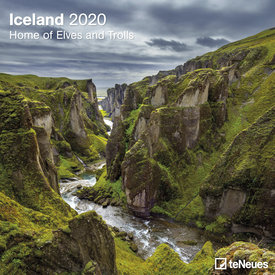 teNeues IJsland - Iceland Kalender 2020