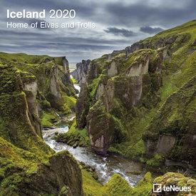 teNeues Island - Iceland  Kalender 2020