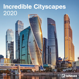 teNeues Incredible Cityscapes Kalender 2020