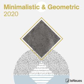 teNeues Minimalistic & Geometric Kalender 2020