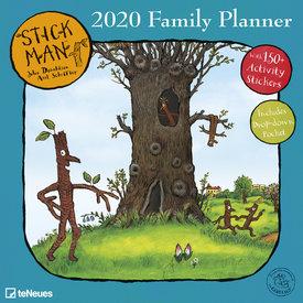 teNeues Stick Man Familieplanner 2020