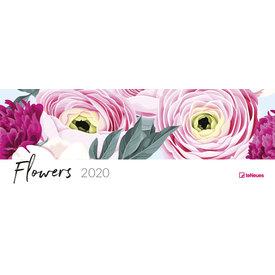 teNeues Flowers Tischquerkalender 2020