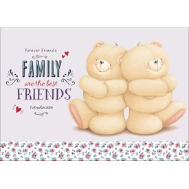 Carousel Forever Friends A4 Familieplanner 2020