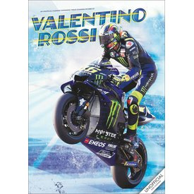 Red Star Valentino Rossi A3 Kalender 2020