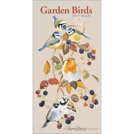 Carousel Garden Birds Slimline Agenda 2020